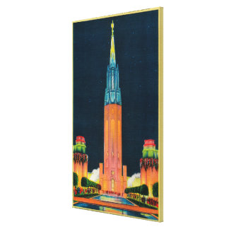 Exposition Tower, The Spire to the Sun Canvas Prints
