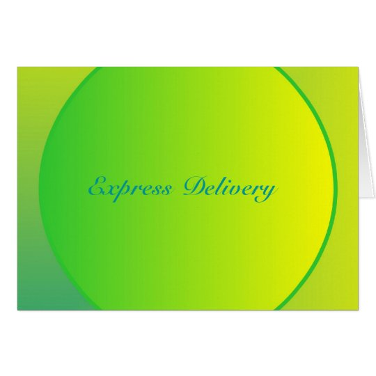 Express Delivery - Be A Greedy Cow Card