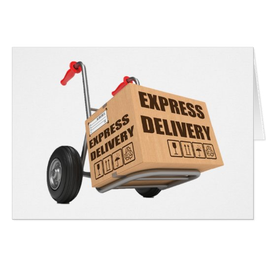 Express Delivery Note Cards