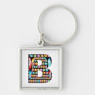 Express Personality n Identity - Alpha BBB B BB Keychain