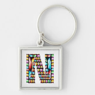 Express Personality n Identity - Alpha N NN NNN Key Chain