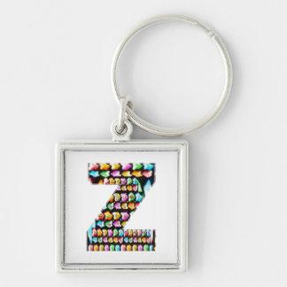 Express Personality n Identity - Alpha ZZ Z ZZZ Key Chains
