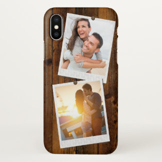 Express Your Selfie | Double Instant Photo Frame iPhone X Case