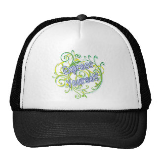 Express Yourself Mesh Hat