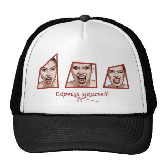Express yourself trucker hat
