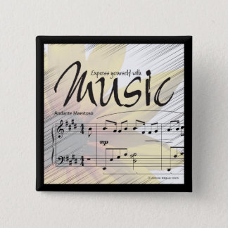 Express Yourself With Music Button