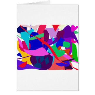 Expression 3 greeting card