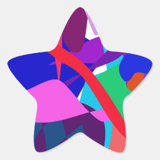 Expression 3 star sticker