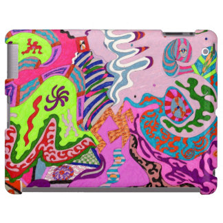 Expression Fantastic, abstract iPad Case