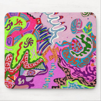 Expression Fantastic, abstract Mouse Pad
