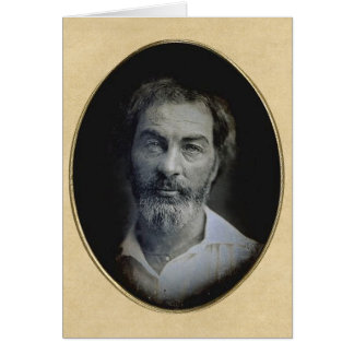 Expression in the Eyes of Walt Whitman Greeting Card