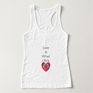 "Expression_LOVE__Slim-Fit-Woman's-Tank-Top"" Tank Top"