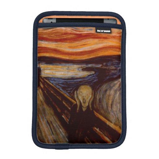 Expressionism Fine Art The Scream Edvard Munch iPad Mini Sleeves