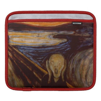 Expressionism The Scream Edvard Munch Fine Art Sleeve For iPads