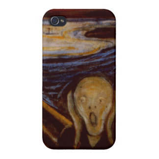 Expressionism The Scream Edvard Munch Fine Art Case For iPhone 4