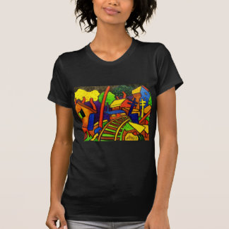 Expressionism Train 4 Tee Shirts