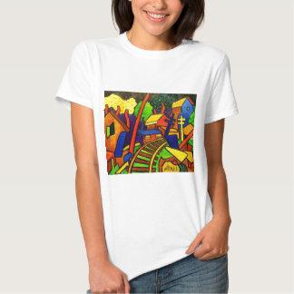 Expressionism Train 4 Tshirt