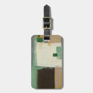 Expressionist Painting with Heavy Brush Strokes Luggage Tag