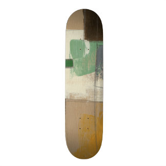 Expressionist Painting with Heavy Brush Strokes Skateboard Deck