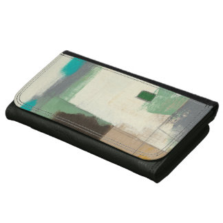 Expressionist Painting with Heavy Brush Strokes Wallets