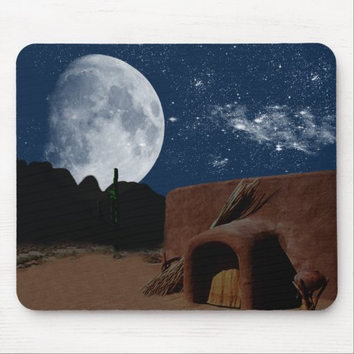 Expressions Native American Mousepad