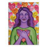 Expressions of self-love card