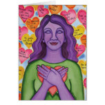 Expressions of unconditional self-love cards