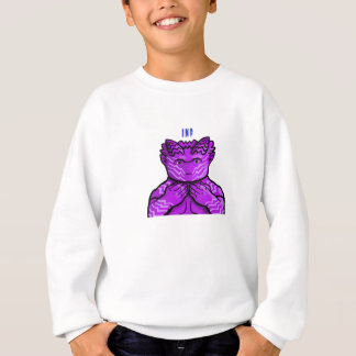 Expressive Purple Imp Sweatshirt