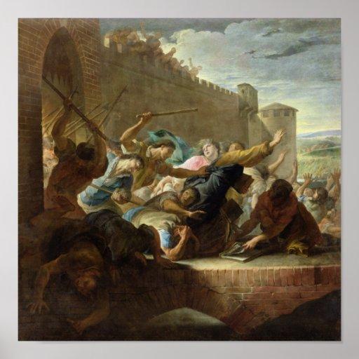 Expulsion of the Huguenots Poster