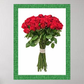 Exquisite Flowers Poster - SRF