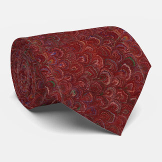 Exquisite Red Oyster Shell Book Paper Tie