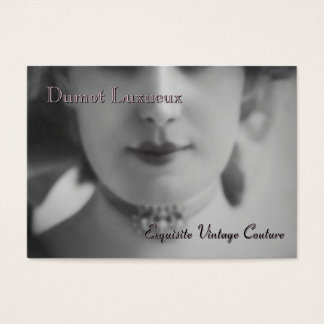 Exquisite Vintage Business Card