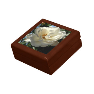 Exquisite white rose gift box