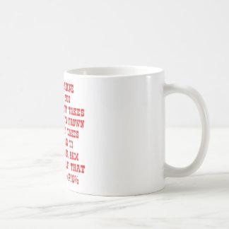 Extend Your Arm & Bitch-Slap That Mother Basic White Mug