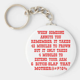 Extend Your Arm & Bitch-Slap That Mother Key Ring