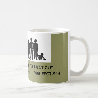 EXTENDED FAMILY OF CONNECTICUT COFFEE MUG