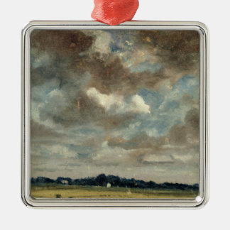 Extensive Landscape with Grey Clouds, c.1821 (oil Christmas Ornament