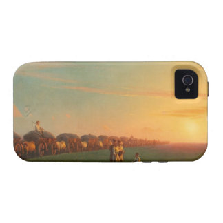 Extensive scenery of settlement person Case-Mate iPhone 4 cases