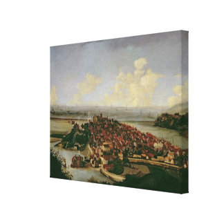 Extensive view of Rye Canvas Print