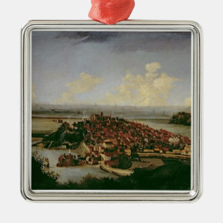 Extensive view of Rye Christmas Ornament