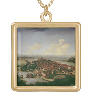Extensive view of Rye Gold Plated Necklace
