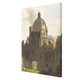 Exterior of Brasenose College and Radcliffe Librar Canvas Print