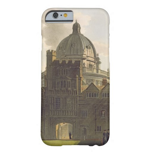 Exterior of Brasenose College and Radcliffe Librar iPhone 6 Case