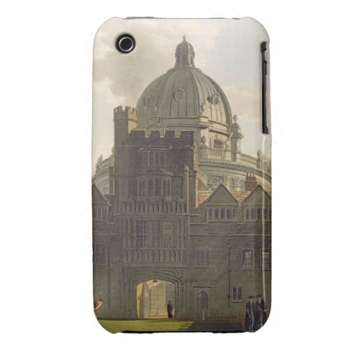 Exterior of Brasenose College and Radcliffe Librar iPhone 3 Case-Mate Cases