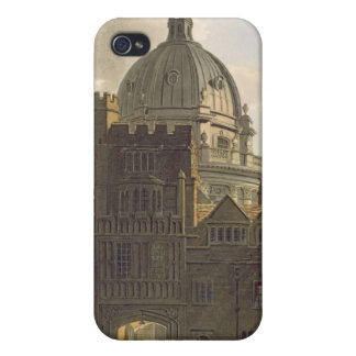 Exterior of Brasenose College and Radcliffe Librar iPhone 4 Case