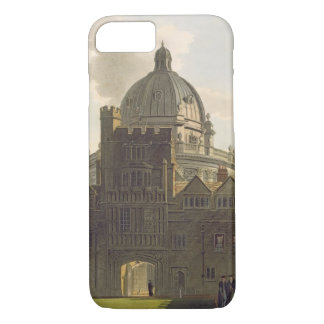 Exterior of Brasenose College and Radcliffe Librar iPhone 7 Case
