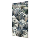 Exterior of David's Tomb Gallery Wrap Canvas