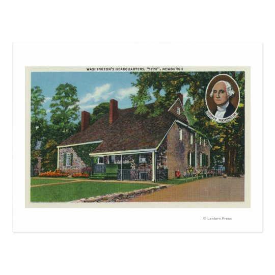 Exterior of George Washington's HQ Postcard