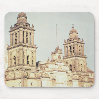 Exterior of Mexico City Cathedral Mouse Mat