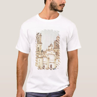 Exterior of Mexico City Cathedral T-Shirt
